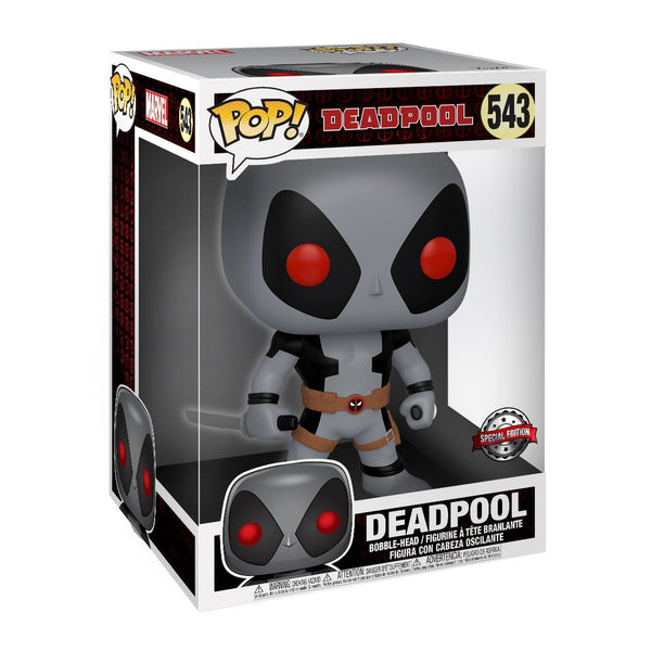 Deadpool Grigio con Spade Super Sized Funko POP Special Edition 25cm