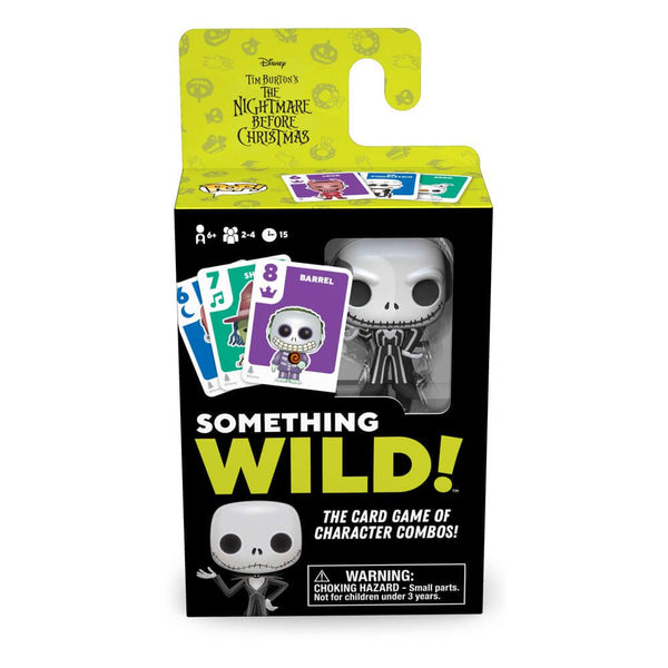 Nightmare before Christmas Card Game Something Wild! Gioco Carte Funko