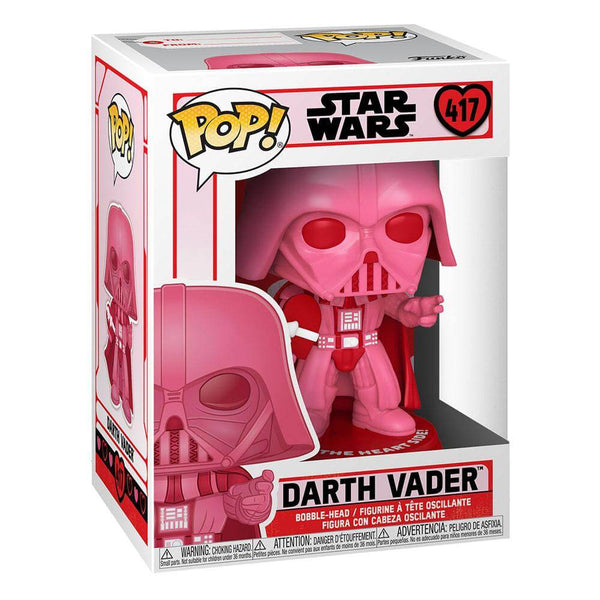 Darth Vader w/Heart Star Wars Valentines POP! Star Wars Vinyl Figure 9 cm - 417