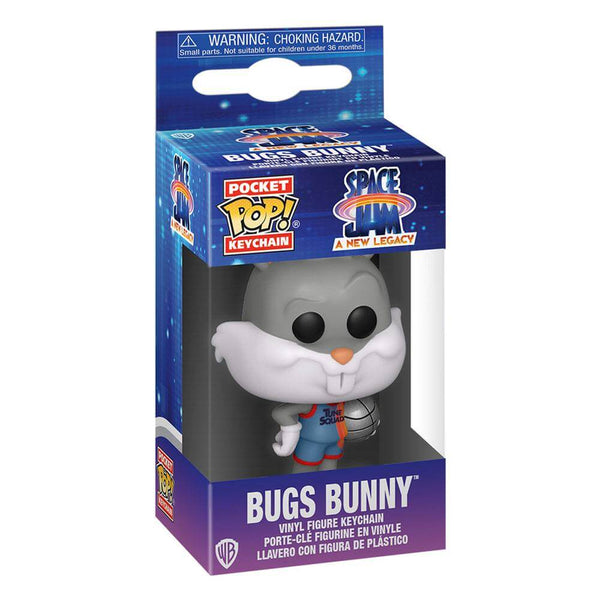 Space Jam 2 Pocket POP! Vinyl Keychains 4 cm Bugs Bunny