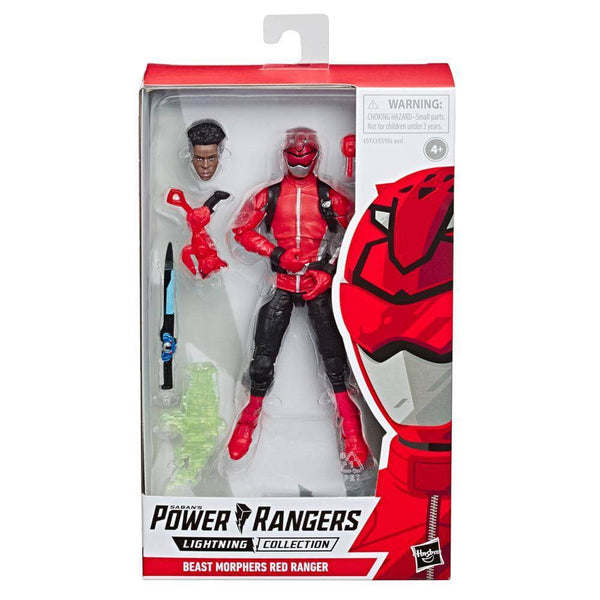 Red Ranger Rosso Beast Morpher E5933 Action Figure Lightning Collection Hasbro #Personaggio_Red Ranger Rosso Beast Morpher E5933 (4114515984481)