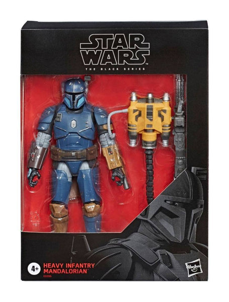 Fanteria Pesante Star Wars Mandalorian Black Series Action Figure Heavy Infantry Exclusive 15 cm