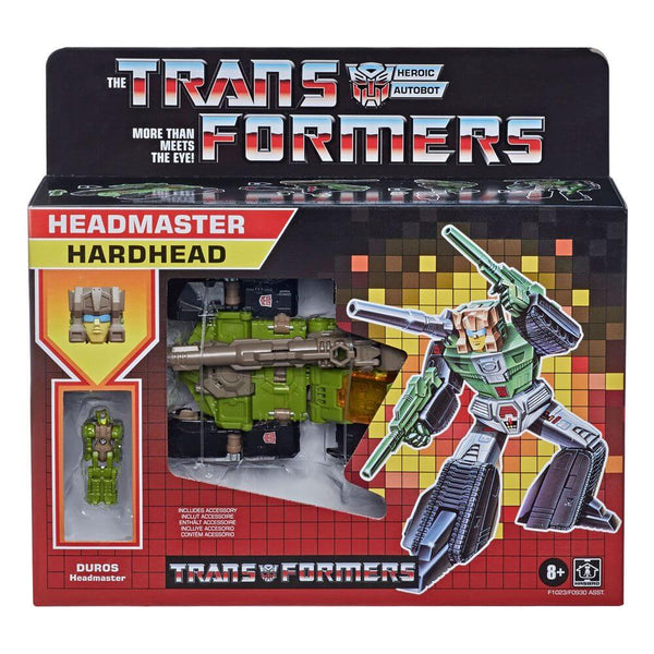 Transformers Generations Deluxe Retro Headmasters Action Figures 2021