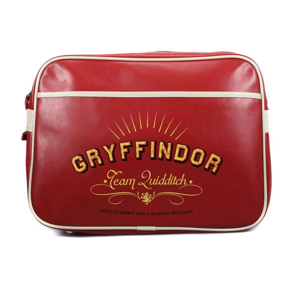 Harry Potter Tracolla Borsa Messenger Bag Gryffindor Team Quidditch