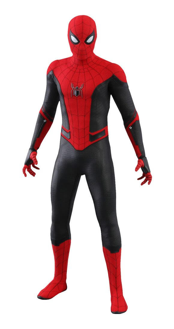 Spider Man Upgraded Suit Far From Home Movie Masterpiece Action Figu