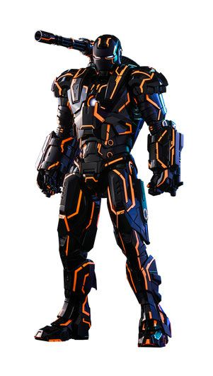 Neon Tech War Machine Iron Man 2 Movie Masterpiece Series Diecast Action Figure 1/6  Excl.