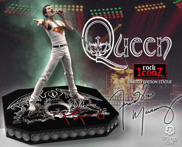 Freddie Mercury Queen Rock Iconz Statue  Limited Edition 23 cm - OCTOBER 2021