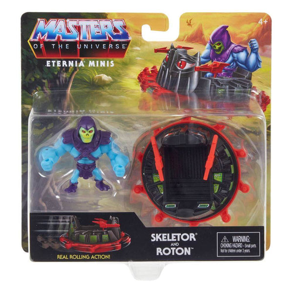 Skeletor and Roton Masters Of The Universe Eternia Minis Action Figure 5 cm