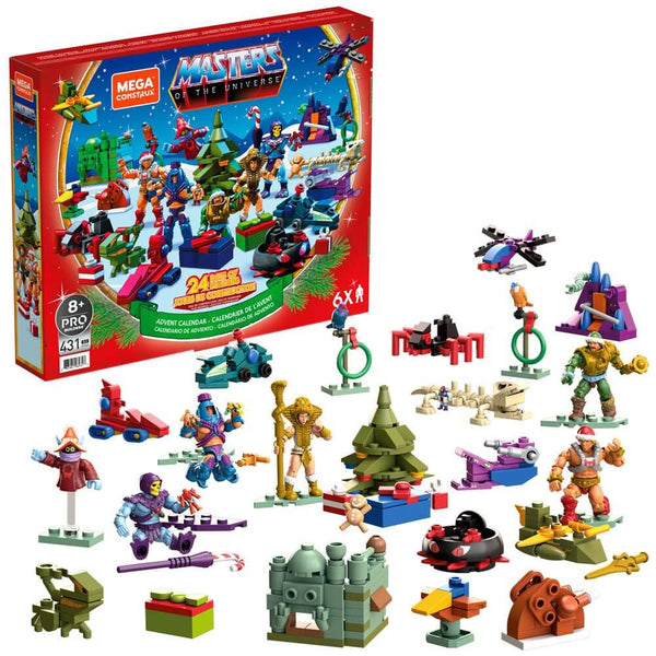 Masters of the Universe Mega Construx Probuilders Advent Calendar 2021
