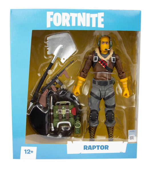 Raptor Action figure Fortnite 18cm con accessori McFarlane Toys (4274985107553)