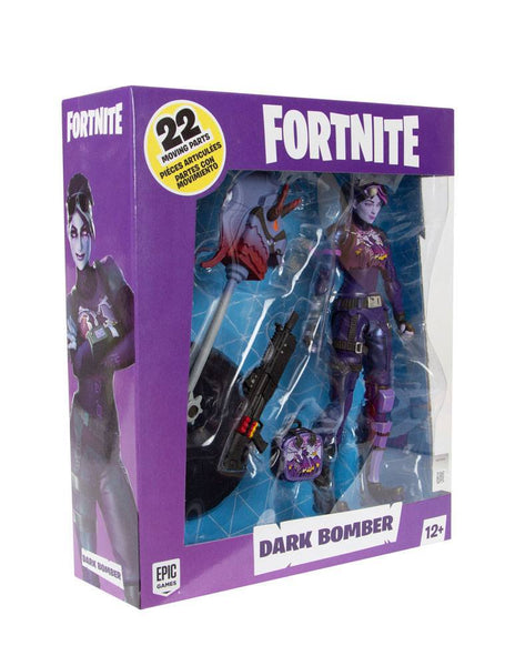 Dark Bomber Action figure Fortnite 18cm con accessori McFarlane Toys (4275019546721)