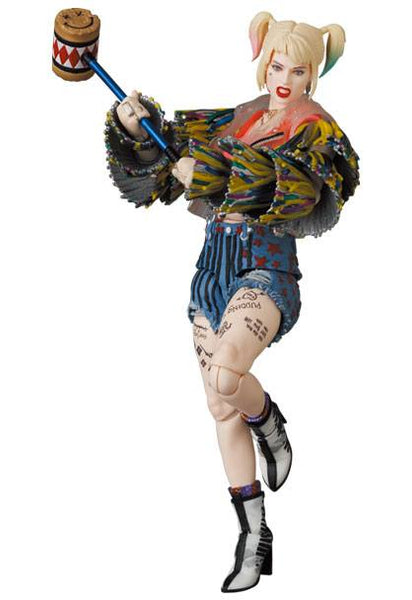 Birds Of Prey MAF EX Action Figure Harley Quinn Caution Tape Jacket Ver. 15 cm - APRIL 2022