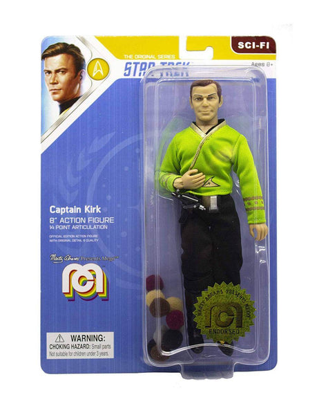 Capitan Kirk Action Figure Star Trek TOS 20cm Mego (4256890355809)