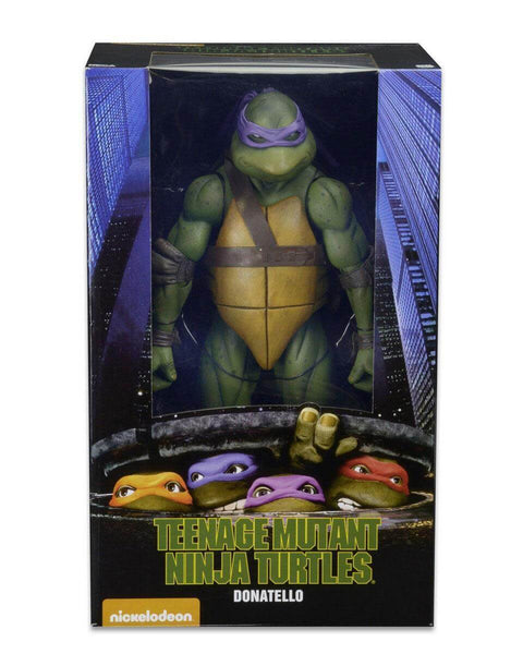 Action Figure Scala 1/4 42cm gigante Neca TMNT Tartarughe Ninja Turtles Donatello 54039 #Personaggio_Donatello 54039 (4120752652385)