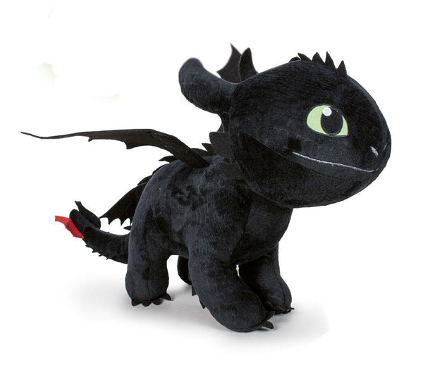 Sdentato Peluche Toothless How to Train Your Dragon 3  Night Fury  60 cm