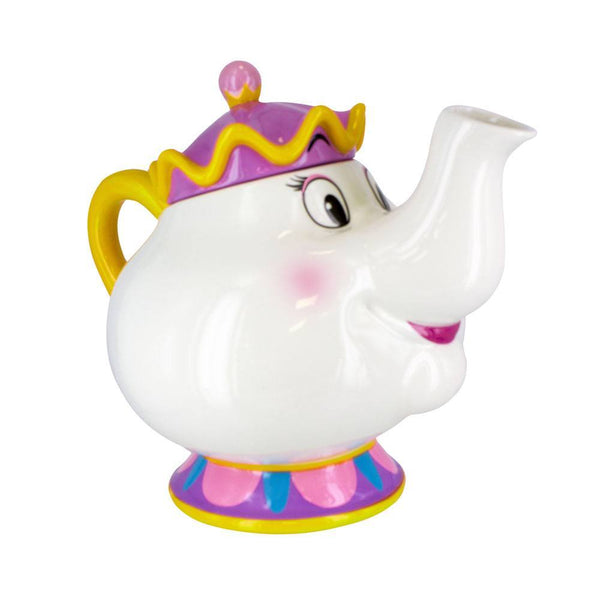 Teiera in Ceramica La Bella e la Bestia Mrs Potts Ufficiale Disney (3948423217249)