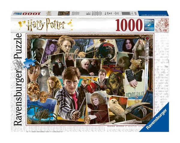 Harry Potter Jigsaw Puzzle Harry Potter vs. Voldemort (1000 pieces)