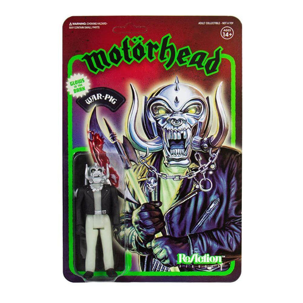 Warpig Motorhead Action Figure Glow in the Dark  ReAction Fluorescente 10 cm (4177941168225)