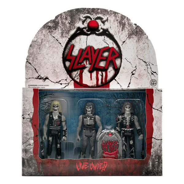 Slayer ReAction Action Figure 3-Pack Live Undead 10 cm
