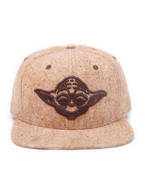 Star Wars Yoda Cappello Baseball Americano Snap Back con Visiera Difuzed (3948333531233)