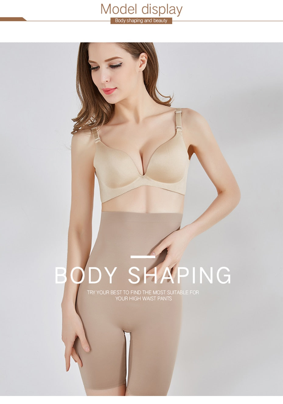 High Waist Super Elastic Seam-free Body Shaper for Women