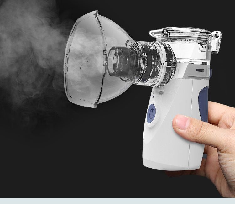 Portable Nebulizer Inhalation Handheld Ultrasonic Steaming Devices for Baby
