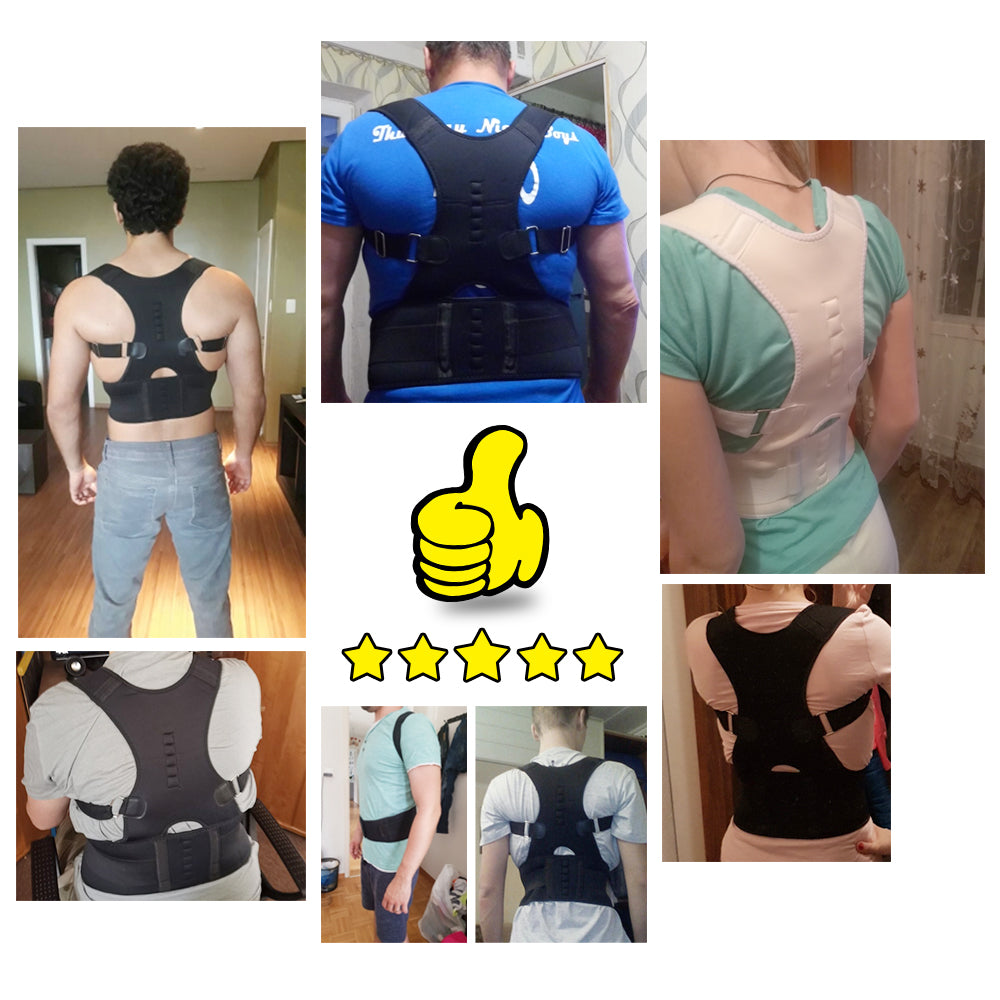 Fast Selling Magnetic Lumbar Lower Back Support Posture Corrector Belt