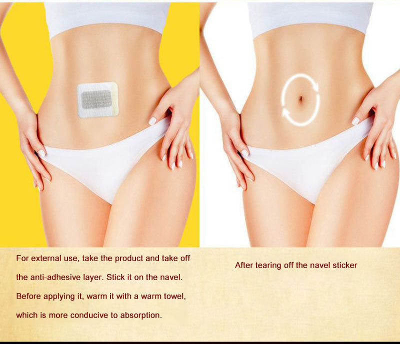 Safety and Effective Traditional Chinese Medicine Navel Slim Patch