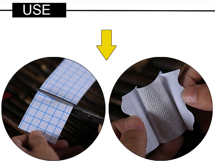 Non-woven Adhesive Breathable Anti-Allergic Medicinal Wound Dressing Fixation Tape Drug Patches Bandage