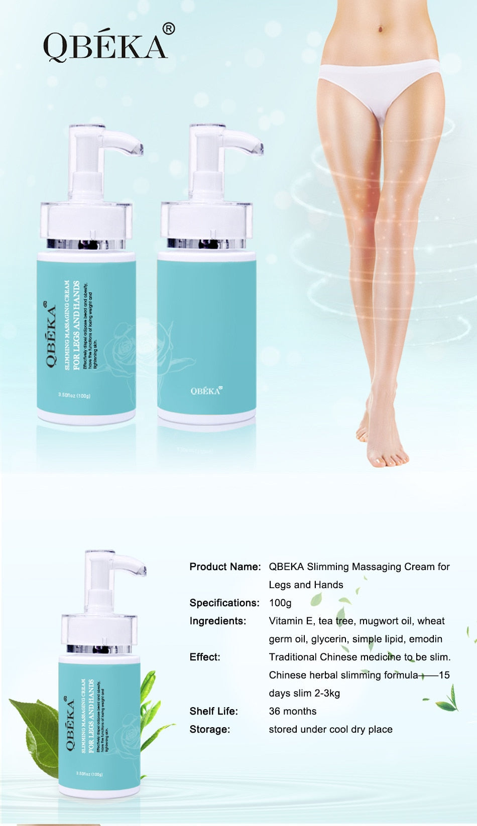 Hot Selling Fat Burn Weight Loss Anti Cellulite Body Slimming Cream