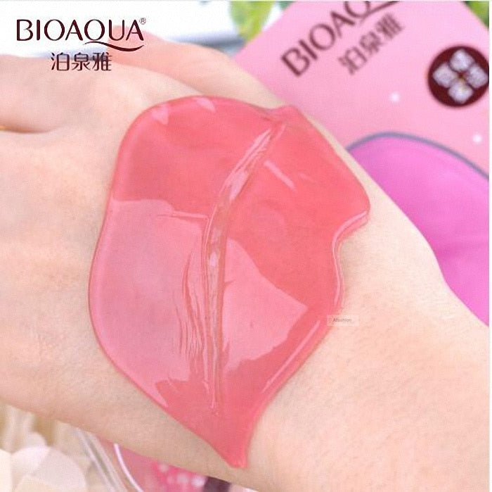 10pcs Collagen Crystal Personal Care Hydrating Lip Whitening Lip Mask