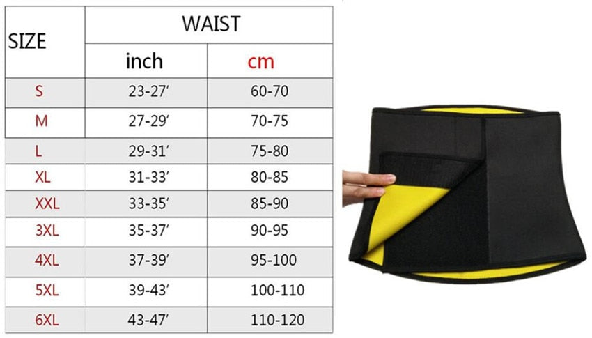 Hot Sale Body Shapers Waist Trimmer Belt for Both Men and Women