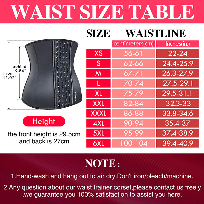 FAST SELLING Women's Latex Waist Trainer Corset for Weight Loss