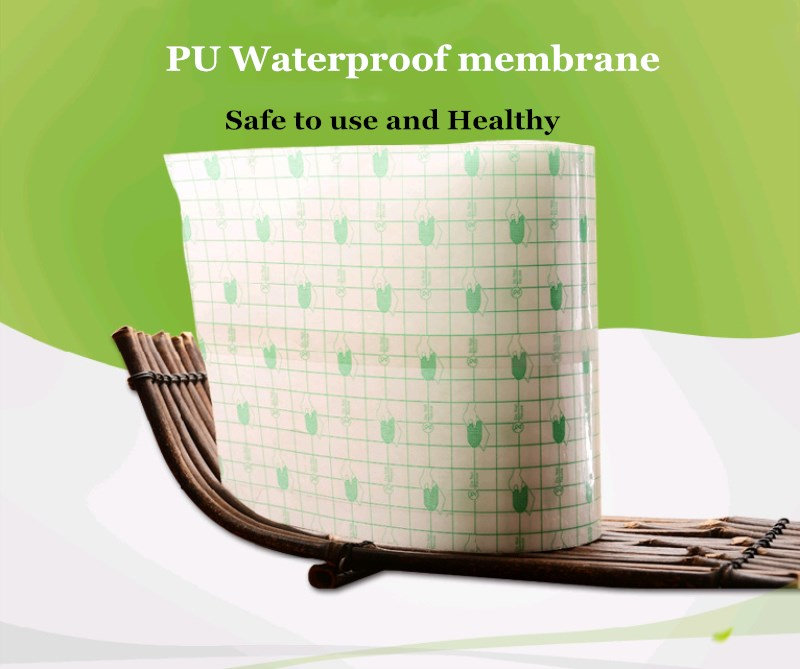 Anti-Allergic 1 Roll Waterproof Bath Medical PU Transparent Adhesive Wound Dressing Fixation Tape