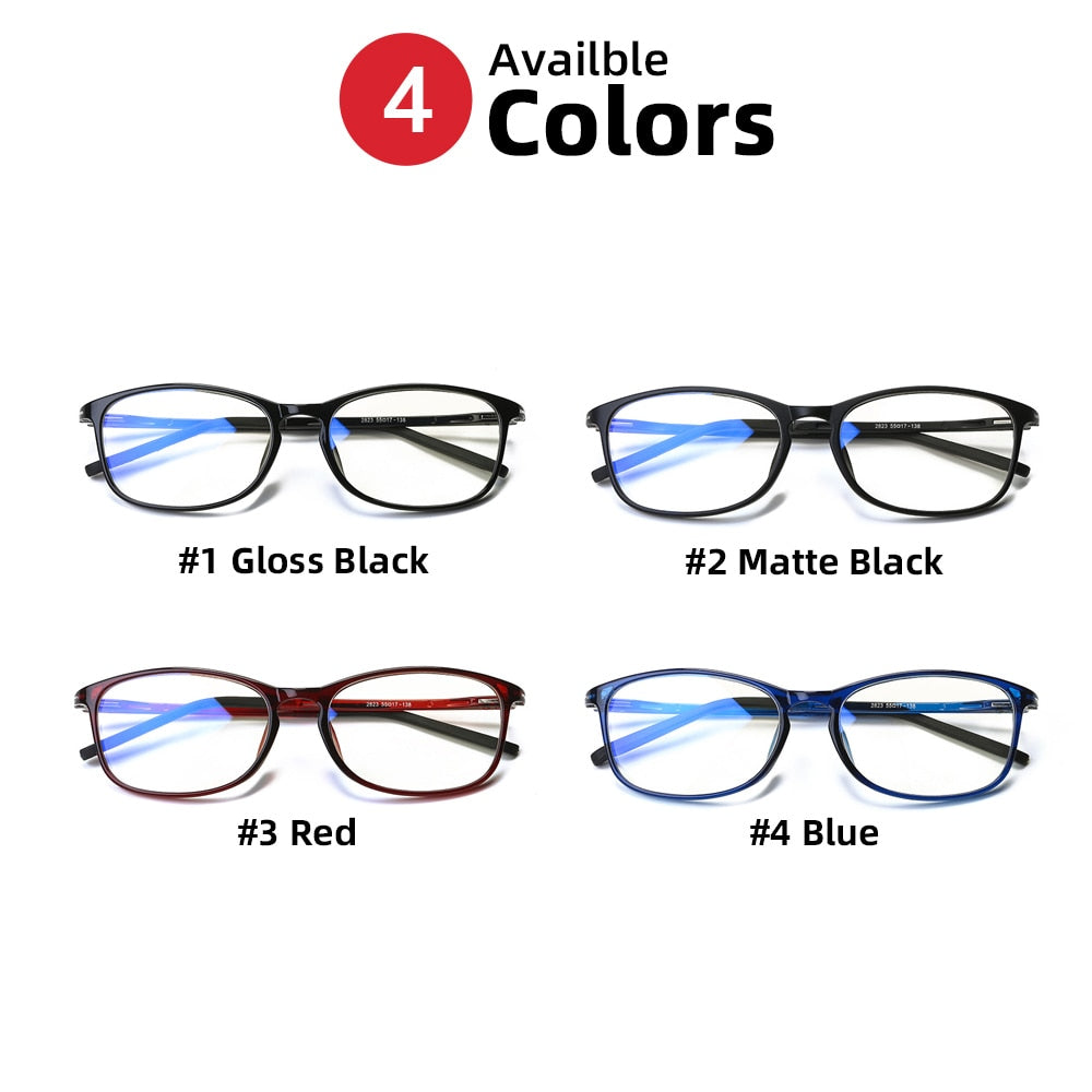 Anti Blue Light Radiation/TR90 Computer Protection Gaming Glasses for Both Men Women