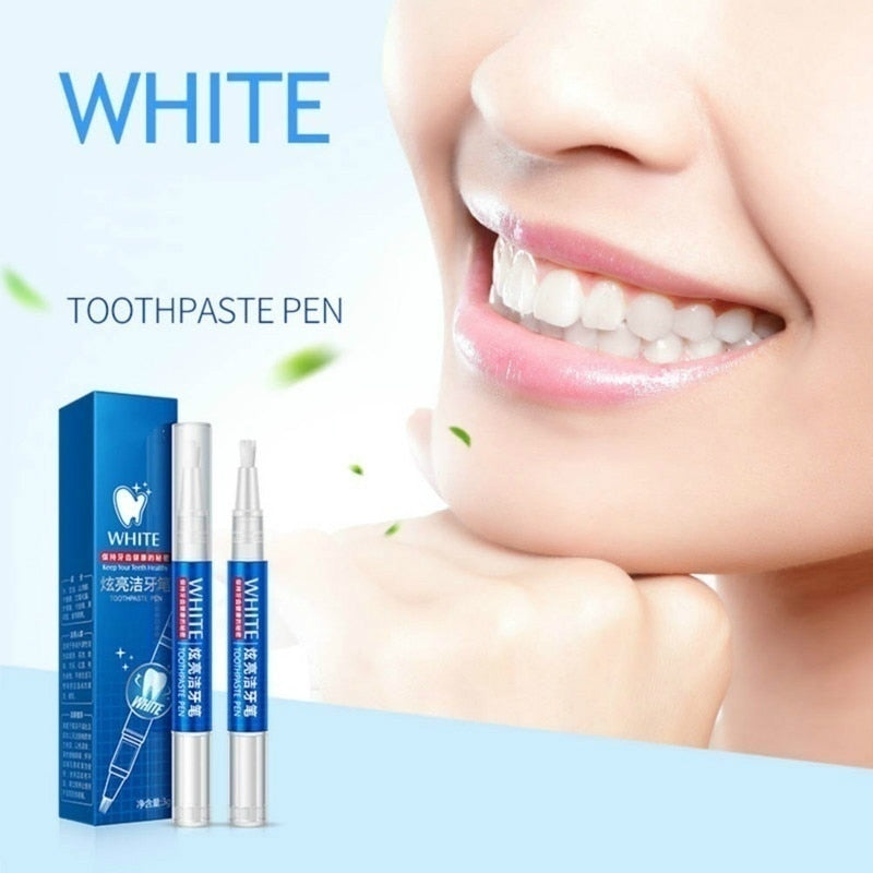 Magic Natural Stains Remover Teeth Whitening Gel Pen Oral Care Tools