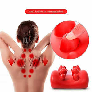 Cervical Massage Pillow for Spinal Neck Back