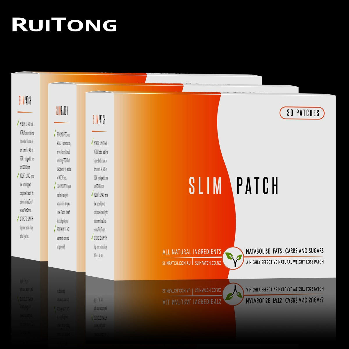 90Pcs/3Boxes 100% Original Weight Loss Slimming Patches