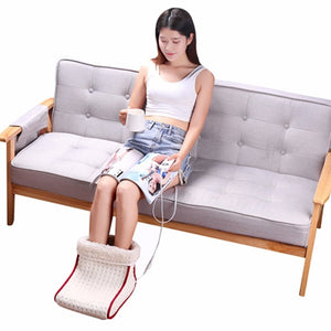 Washable 5 Modes Heated Electric Cushion Thermal Foot Warmer