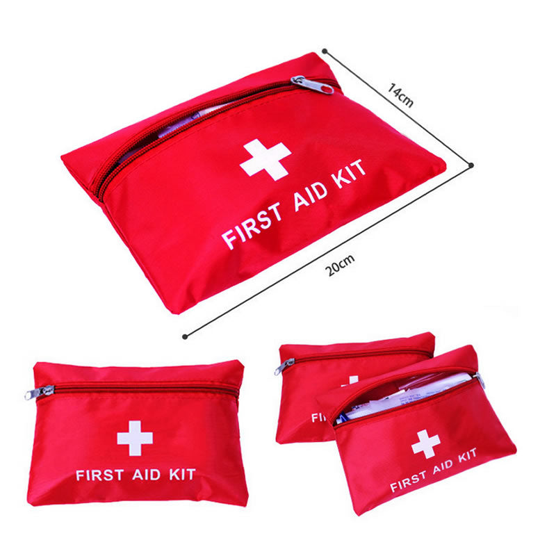 Portable Outdoor Waterproof First Aid Kit Bag For Emergency Survival