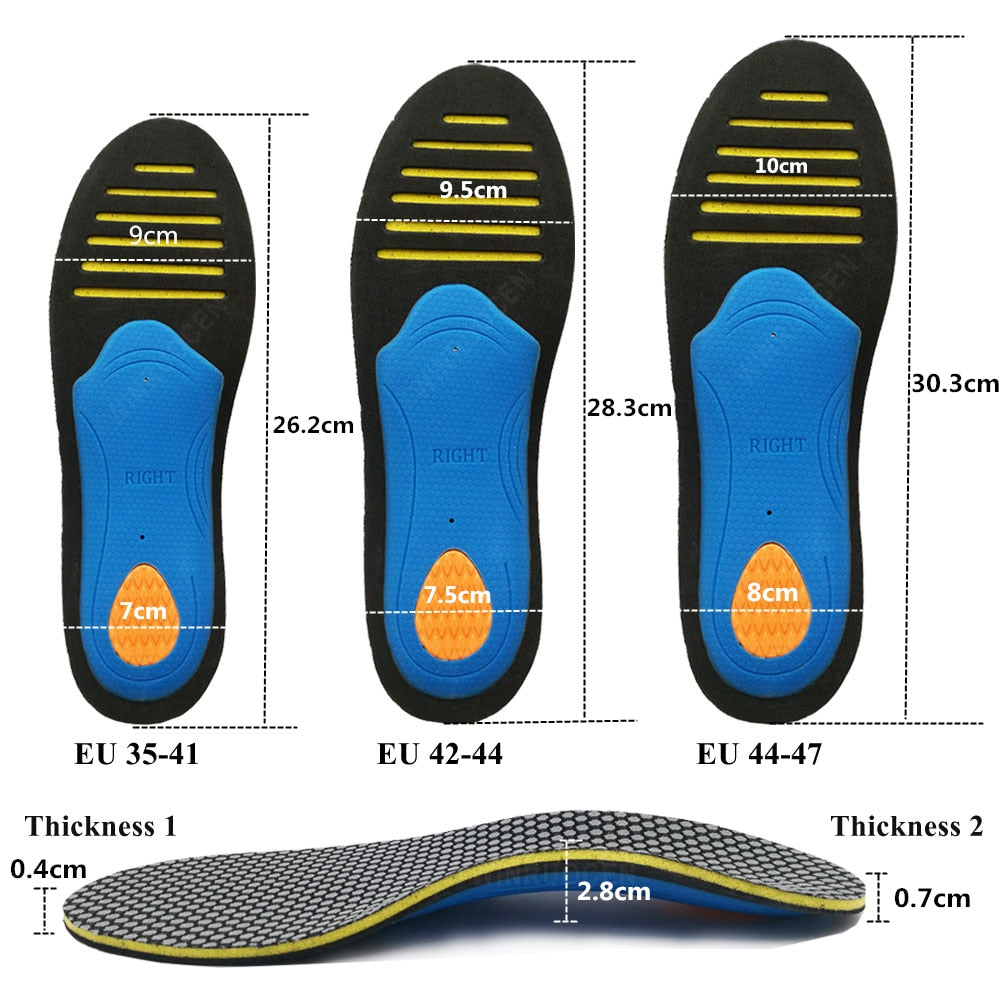 EVA Orthopedic Arch Support Insoles