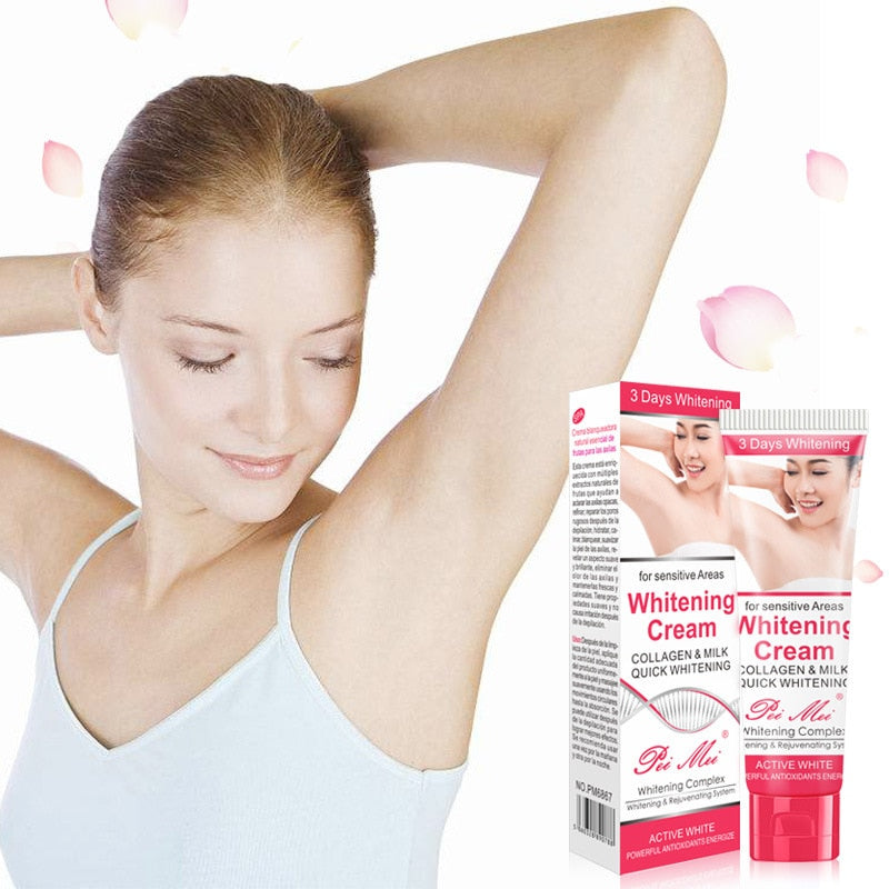 Women's Underarm Private Parts Natural Whiting Skin Care Cream