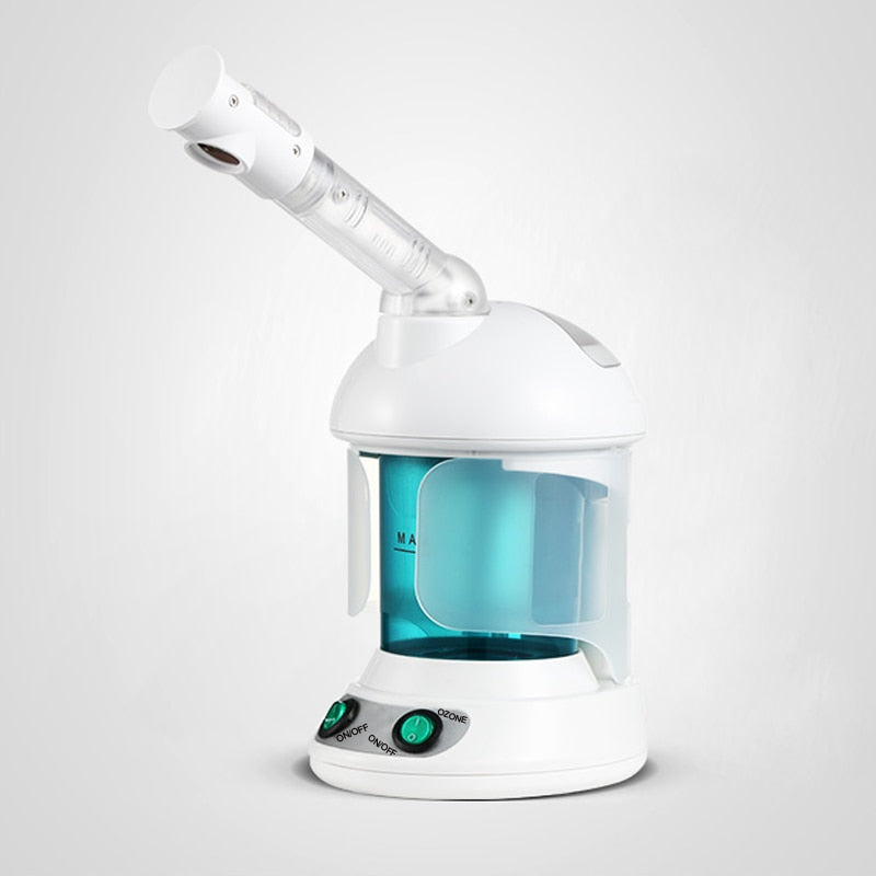 Deep Cleaning Ozone Facial Steamer Nano Ionic Face Cleaner Steaming Device