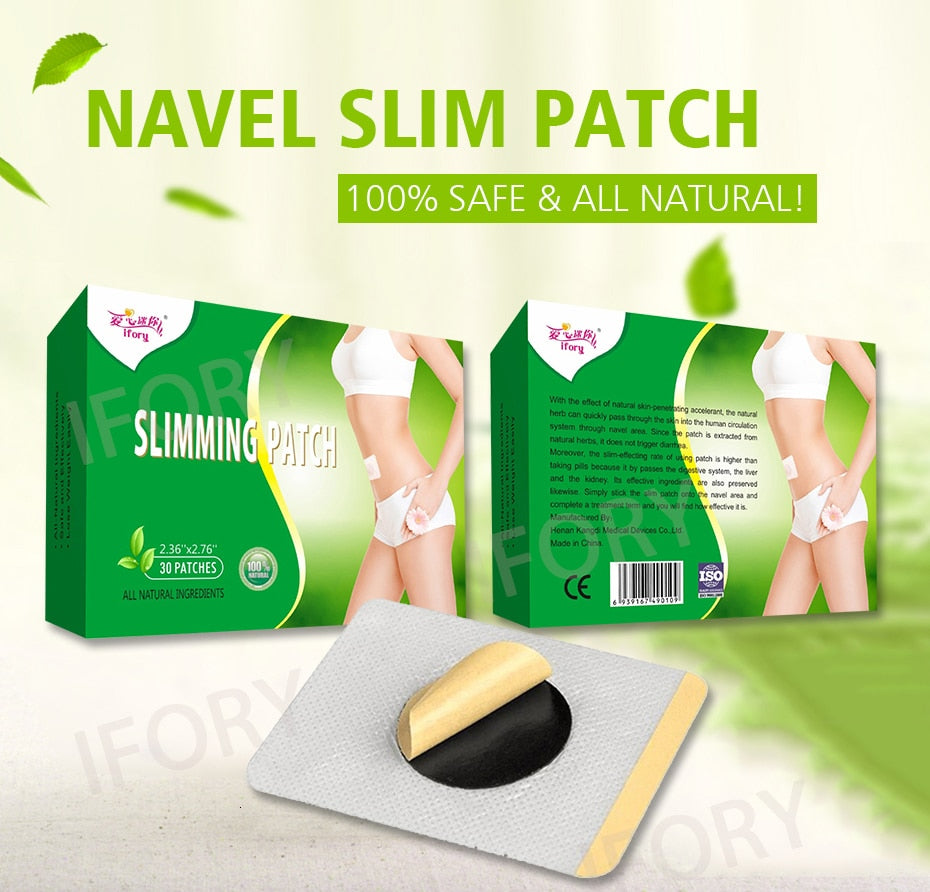 30 Pieces/Box Health Care Effective Weight Loss Slim Patch