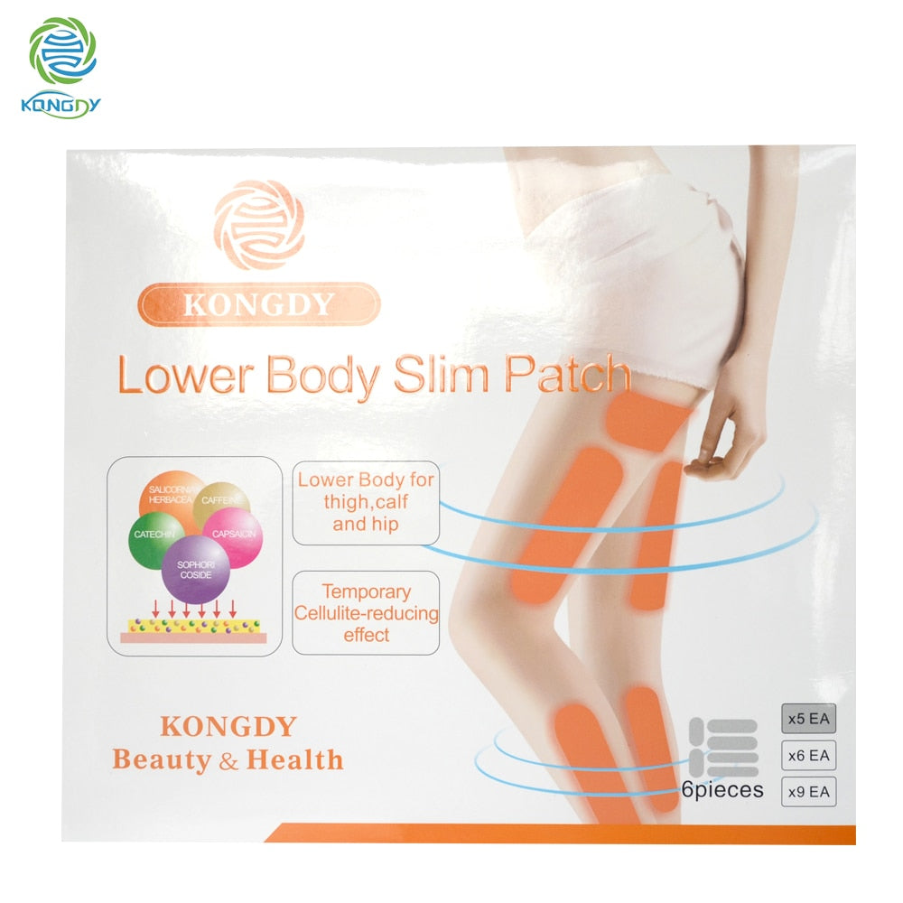30 Pieces /Box Fat Burning Lower Body Slim Patch