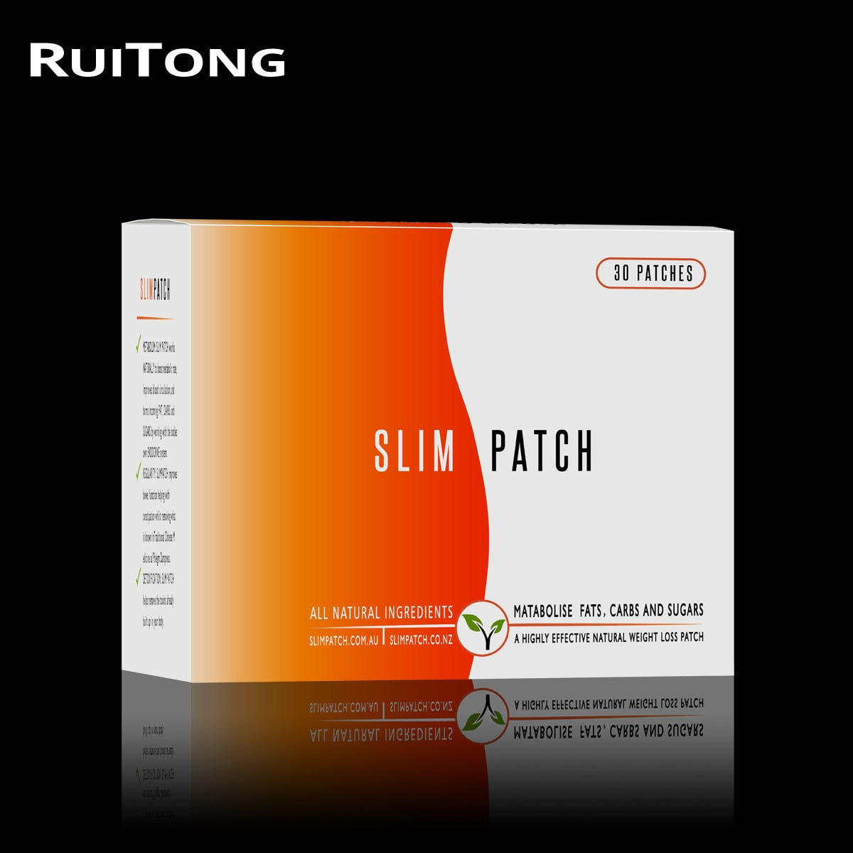 New 30Pcs/Box Navel Slim Patch for Weight Loss