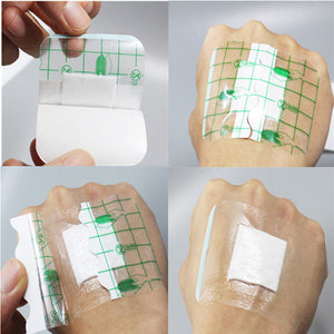10 Pcs/lot Ultra-thin Emergency First Aid Breathable Band-Aids