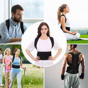 Adjustable Back Posture Corrector Support Belt