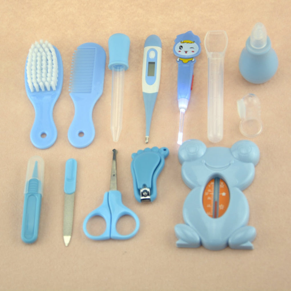 Portable 13Pcs Baby Health Care Tools Set