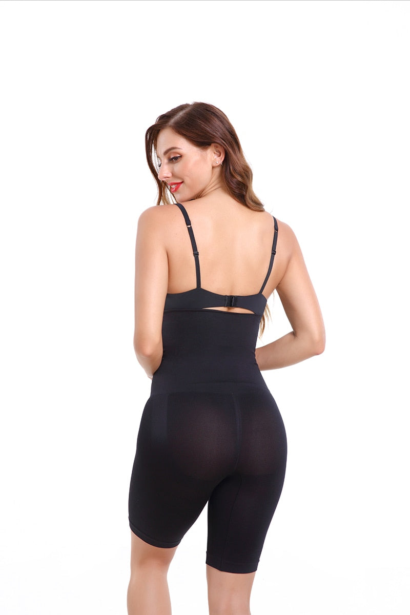2Pcs Butt Lifter Seamless Women High Waist Tummy Control Slimming Pants